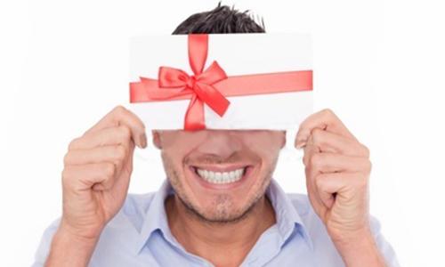 Что мужчины хотели бы получить в подарок?