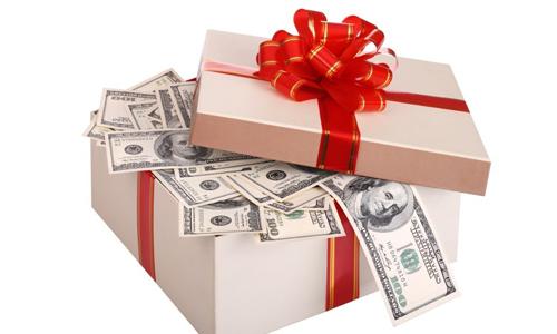 Подарить деньги на день рождения