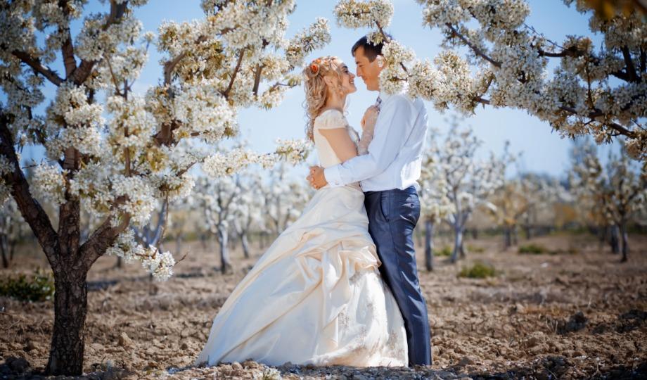 Hochzeit in der freien Natur