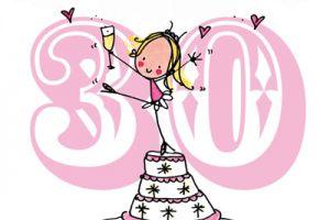 Поздравления с 30 летием для подруги