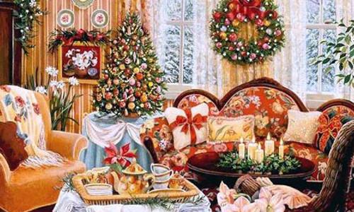 Новый год украшения квартиры