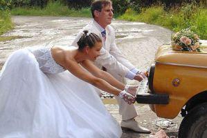 Шуточное поздравление с днем свадьбы видео